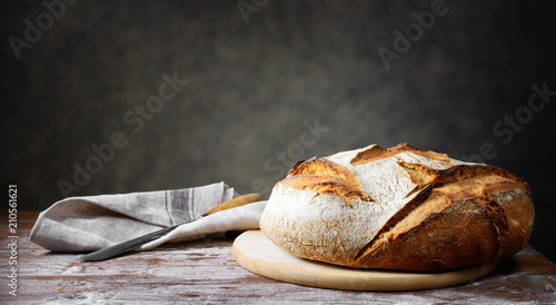 Traditional bread Canvas Print