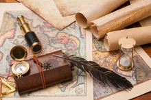 Planning A Trip: Quill Pen, Ol...