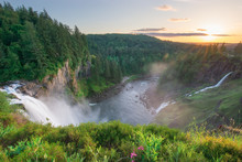Snoqualmie Falls In Washington...