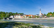 Bad Tölz Panorama in Bayern