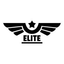 Elite Logo. Simple Illustratio...