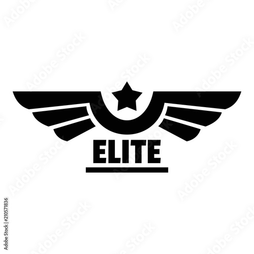 Obraz na plátně Elite logo