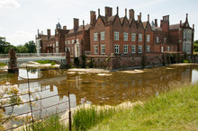 Helmingham Hall With Moat