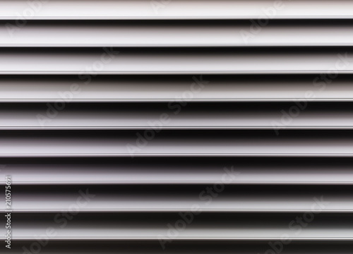 Horizontal black and white motion blur lines background