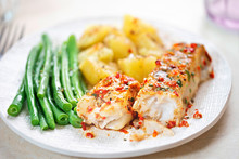 Tomato & Basil Chargrilled Cod...
