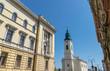 Buildings architecture in Oradea, Romania, Crisana Region