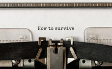 Text How To Survive Typed On R...