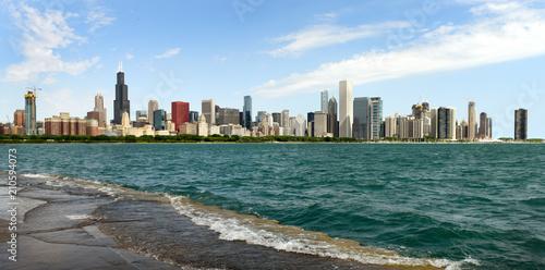 Poster Chicago Panorama Chicago