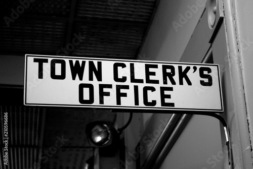 Town Clerk Fototapet