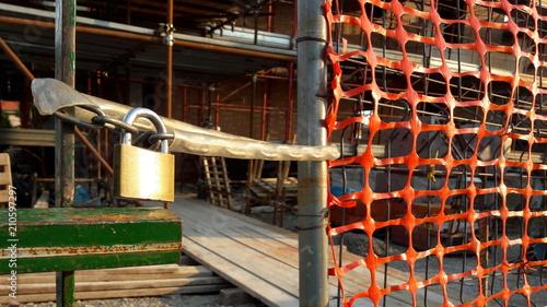 Fényképezés Cantiere edile fermo - sicurezza