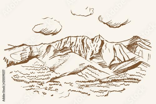 Fototapeta Tatry - widok panoramiczny z Gubałówki obraz