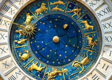 Ancient Clock Torre Dell'Orolo...