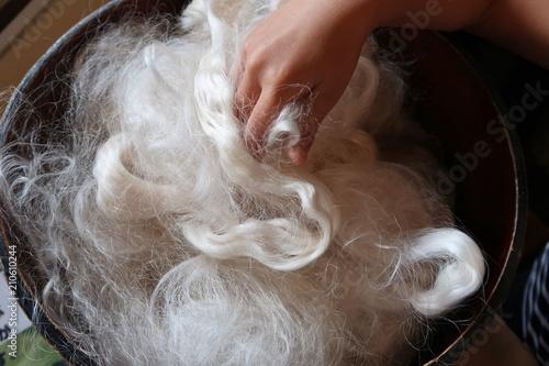 Fotografía  絹の製糸工場