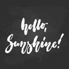 Hello, Sunshine - Hand Drawn S...