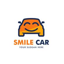 Happy Car Logo Design