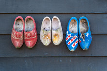 Traditional Dutch Wooden Clogs...