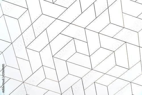 Fototapeta White modern texture pattern