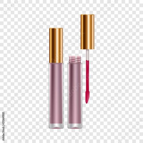 Fotografía Purple lip gloss mockup