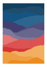 Colorful Vertical Background O...