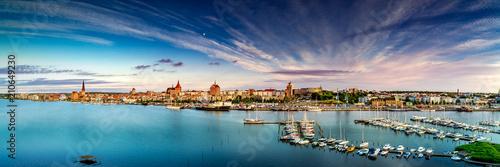 Fotografía Rostock Stadthafen Panorama