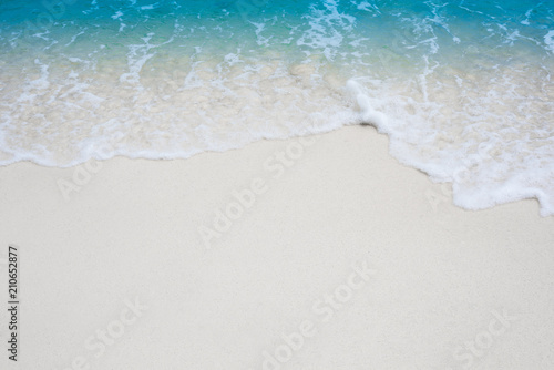 Canvas Prints Countryside beach and beautiful tropical sea