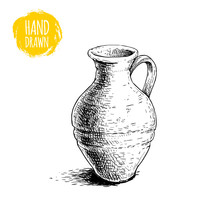 Hand Drawn Sketch Style Mediev...