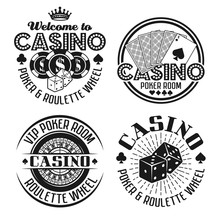 Casino And Gambling Four Vecto...