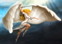 Girl - An Angel Armed With A S...