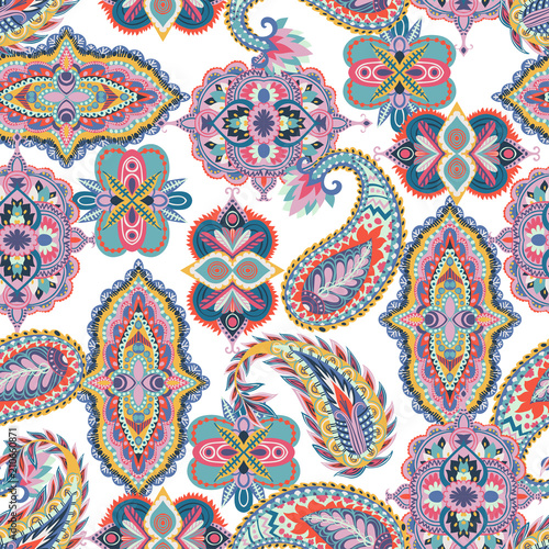 jednolity-wzor-paisley-kolorowy-kwiatowy-ornament-orientalny-wzor-na-tkaniny-nadruki-papier-pakowy-karty-zaproszenia-tapety-ilustracji-wektorowych