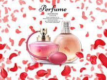Cosmetics Perfume Bottles With...