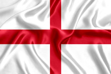 Flag Of England Silk