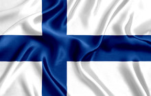 Flag Of Finland Silk