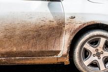Asphalt On A White Car Difficu...