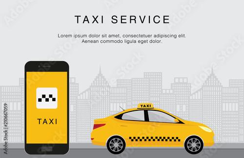 Taxi service Tapéta, Fotótapéta