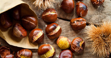 Roasted Sweet Chestnuts Nuts O...