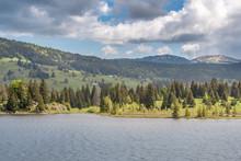 French Landscape - Jura. View ...