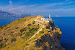 canvas print picture - Altea Leuchtturm Faro del Albir, Costa Blanca in Spanien -  Altea lighthouse Faro del Albir, Costa Blanca