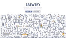 Brewery Doodle Concept