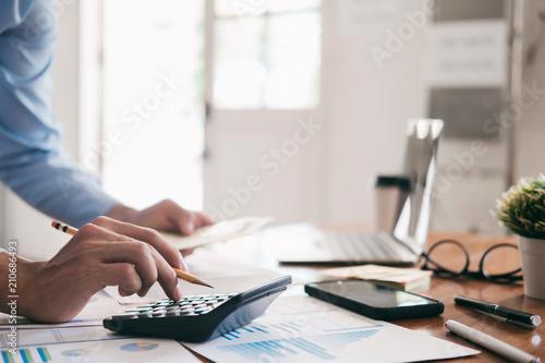 Fototapeta Finances Saving Economy concept. obraz