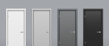 The Doors Of Different Colors