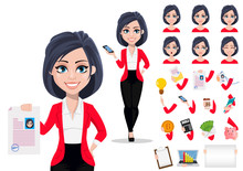 Business Woman, Manager, Banker