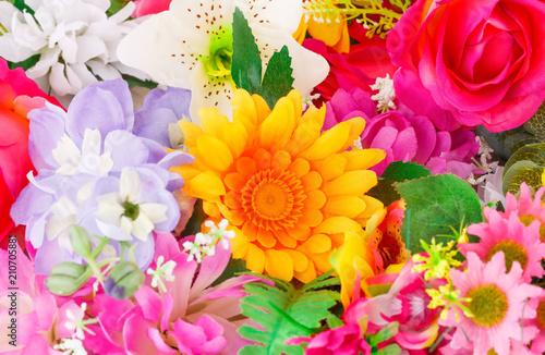 Deurstickers Bloemen Flowers