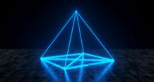 Geometric Futuristic Sci-fi Ne...
