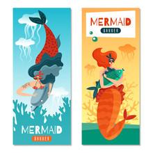 Mermaids Life Banners