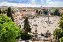 Panoramic View Of Piazza Del P...