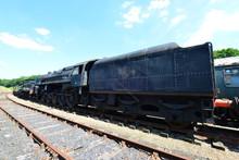 A Massive Steam Locomotive