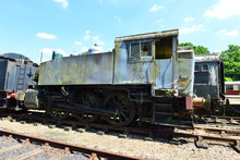 A Rusty Shunting Steam Engine.