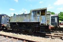 A Rusty Shunting Steam Engine.