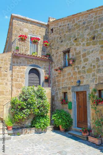 Fototapety, obrazy: Civita di Bagnoregio, Lazio Viterbo - Italy