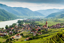 Scenic View Into The Wachau Wi...